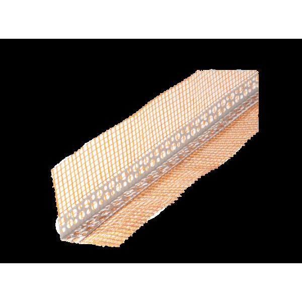 Профиль из ПВХ с сеткой из стекловолокна 10х10 мм