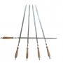 Шампур с деревянной ручкой (790х15х3 мм)