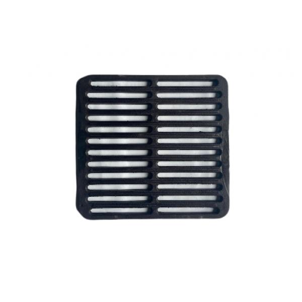 Чугунная решетка-гриль Булат 320х330 мм