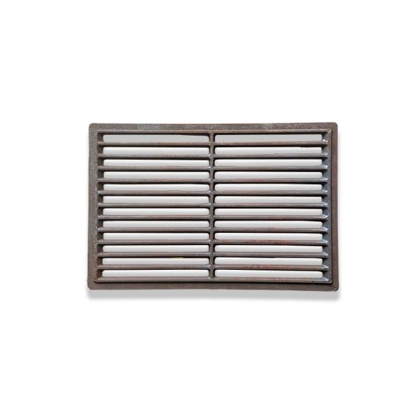 Решетка-гриль из чугуна (515х322 мм) прямоугольной формы
