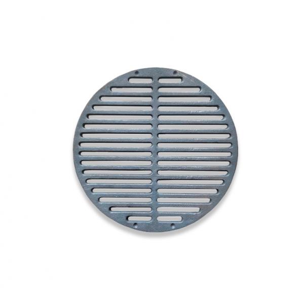 Чугунная решетка-гриль (350 мм) круглой формы