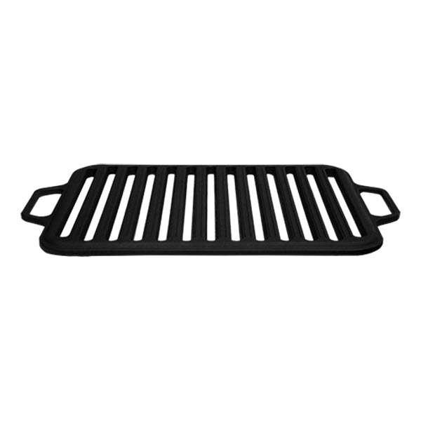 Чугунная решетка-гриль матовая Ситон 360х260 мм