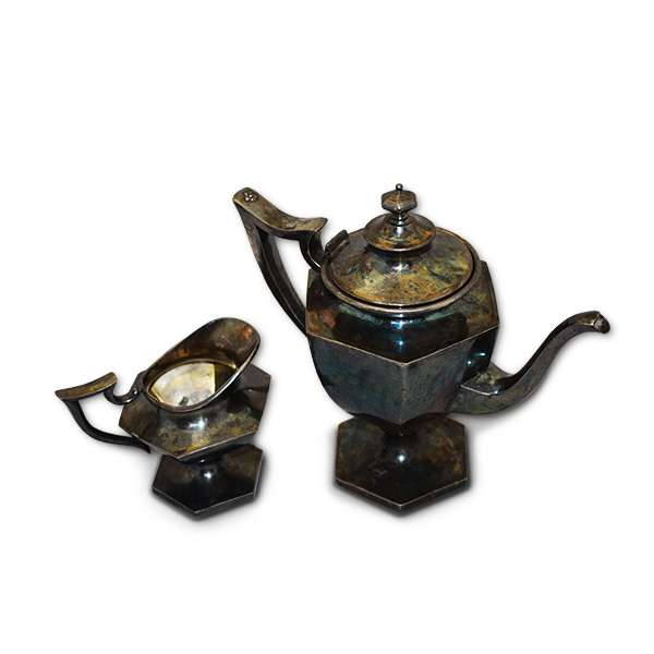 """Чайник со сливочником """"Старая Европа"""""""