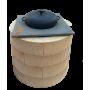 Чугунная кастрюля WOK Ситон 3.5 литров