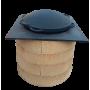 Плита квадратная для печи, стальная, 730х730 мм