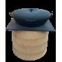 Стальная плита пловница 530х530 мм