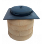 Плита для печи, стальная, 530х530 мм