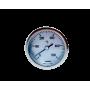 Термометр биметаллический 0-500°C для дровяных печей (с трубкой 300 мм)