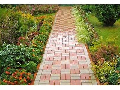 Как сделать садовые дорожки на участке?