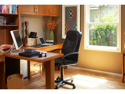 Интерьер кабинета в квартире